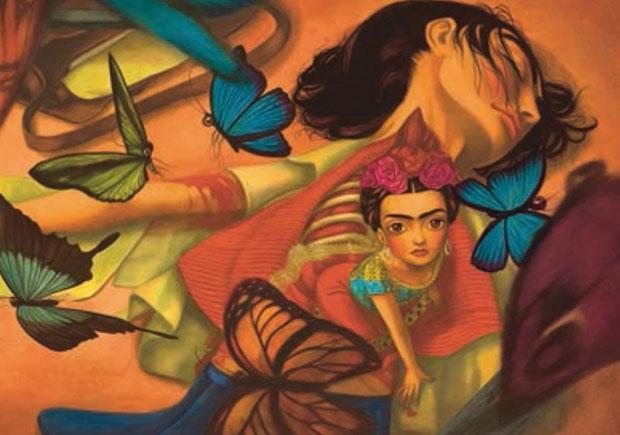 Frida, Sébastien Perez, Benjamin Lacombe, Deus Me Livro, Kalandraka