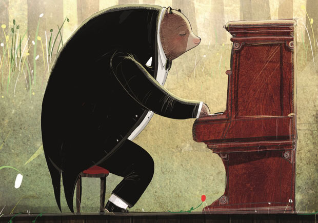 O Urso e o Piano, David Litchfield, Deus Me Livro, Booksmile