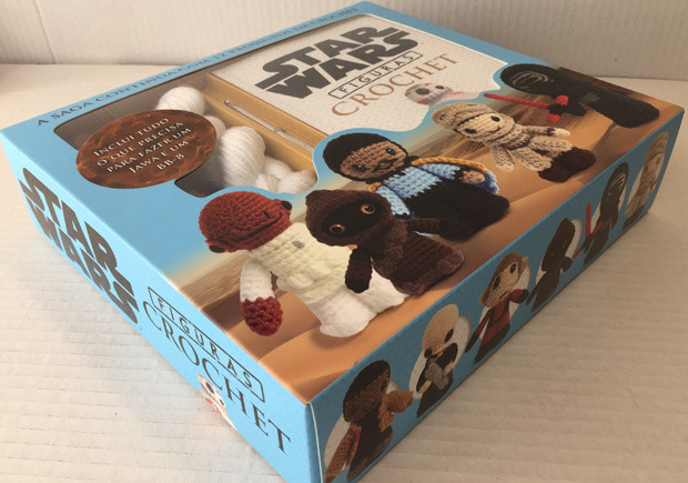 Star Wars Figuras Crochet, PLaneta, Deus Me Livro, Lucy Collin