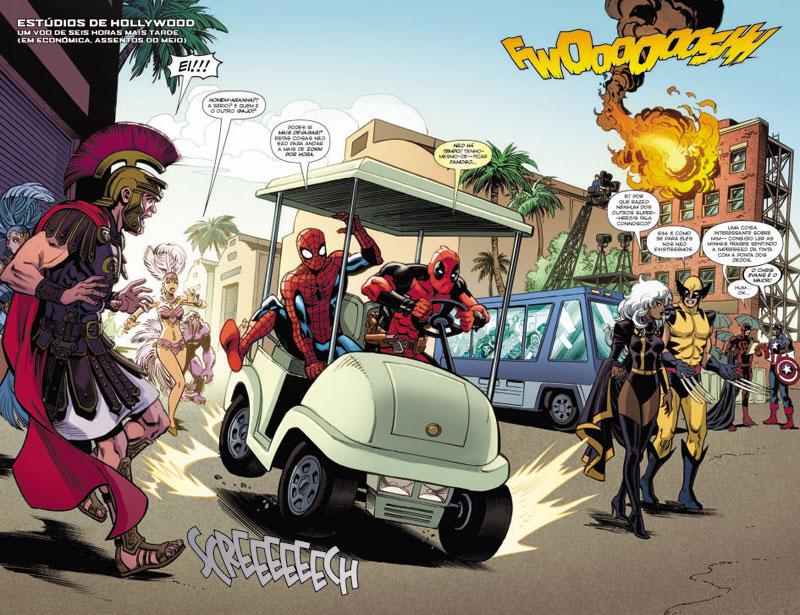 Homem-Aranha 10, Homem-Aranha, Dupla Maravilha, Aukerman, Brown, Duggan, Koblish, Giovannetti
