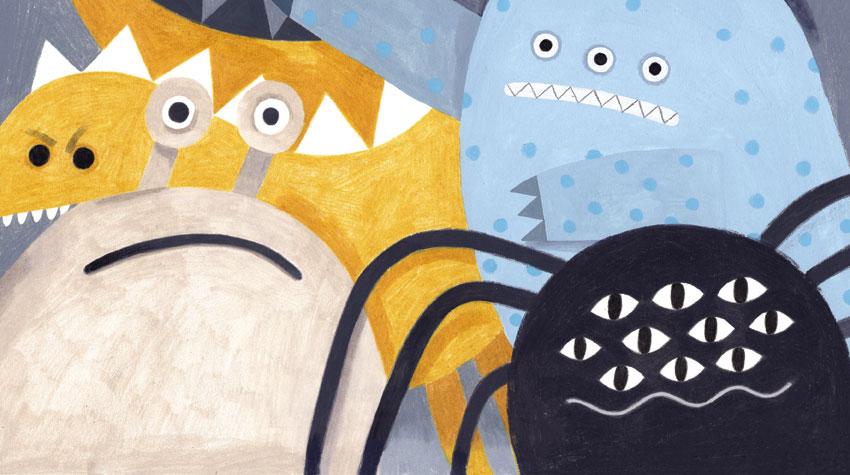 O João e os Monstros, António Gouveia, bruáa, Deus Me Livro, Beatrice Cerocchi