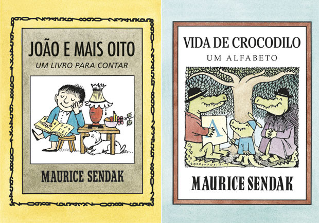 João e Mais Oito, Vida de Crocodilo, Kalandraka, Deus Me Livro, Maurice Sendak
