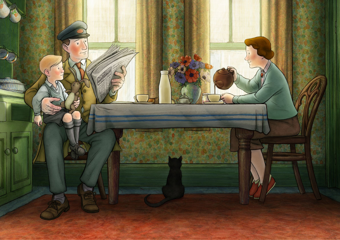 """Ethel & Ernest"", do britânico Roger Mainwood"