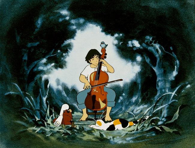 """""""Gochu, o Violoncelista"""", do mestre Isao Takahata"""