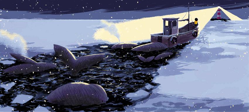 O Regresso da Baleia, Orfeu Negro, Deus Me Livro, Benji Davies