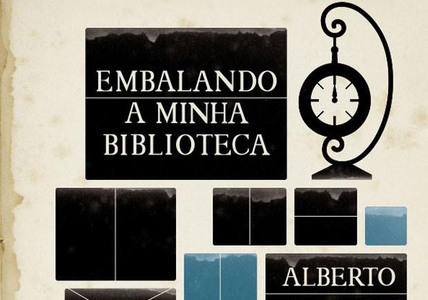 Embalando a Minha Biblioteca, Tinta da China, Deus Me Livro, Albert Manguel