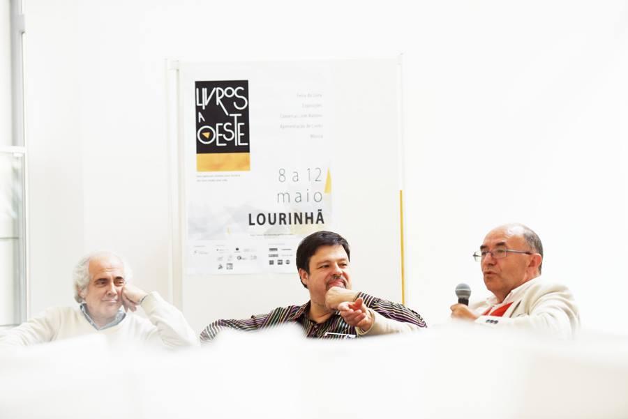 Livros a Oeste, Tozé Brito, Deus Me Livro, Maria Joana Carvalho, Mário Cordeiro