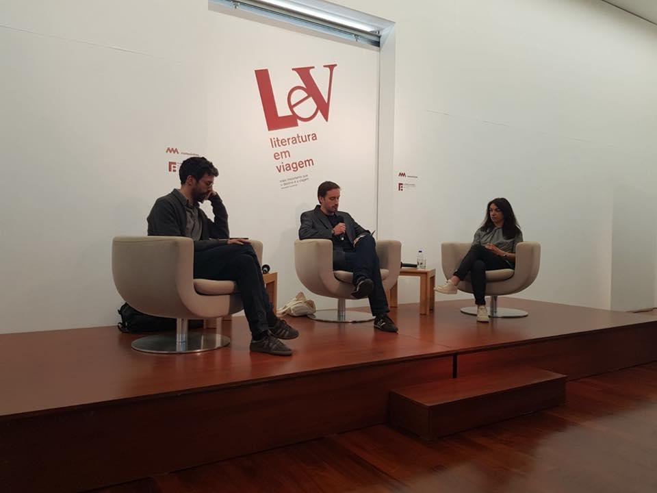 Joel Cleto, Alexandra Lucas Coelho, João Tordo, LeV – Literatura em Viagem, LeV – Literatura em Viagem 2018, Deus Me Livro, Isabel Lucas, Mariano Marovatto