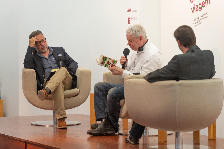 Jonathan Coe, LeV – Literatura em Viagem, LeV – Literatura em Viagem 2018, Deus Me Livro