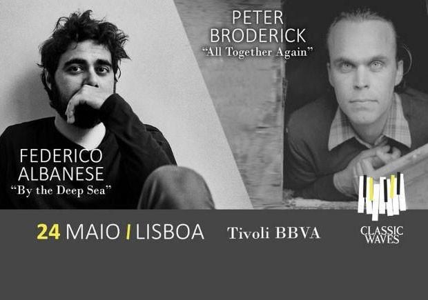 Uguru, Federico Albanese, Peter Broderick, Classic waves – 1º Ciclo de Música Clássica Moderna