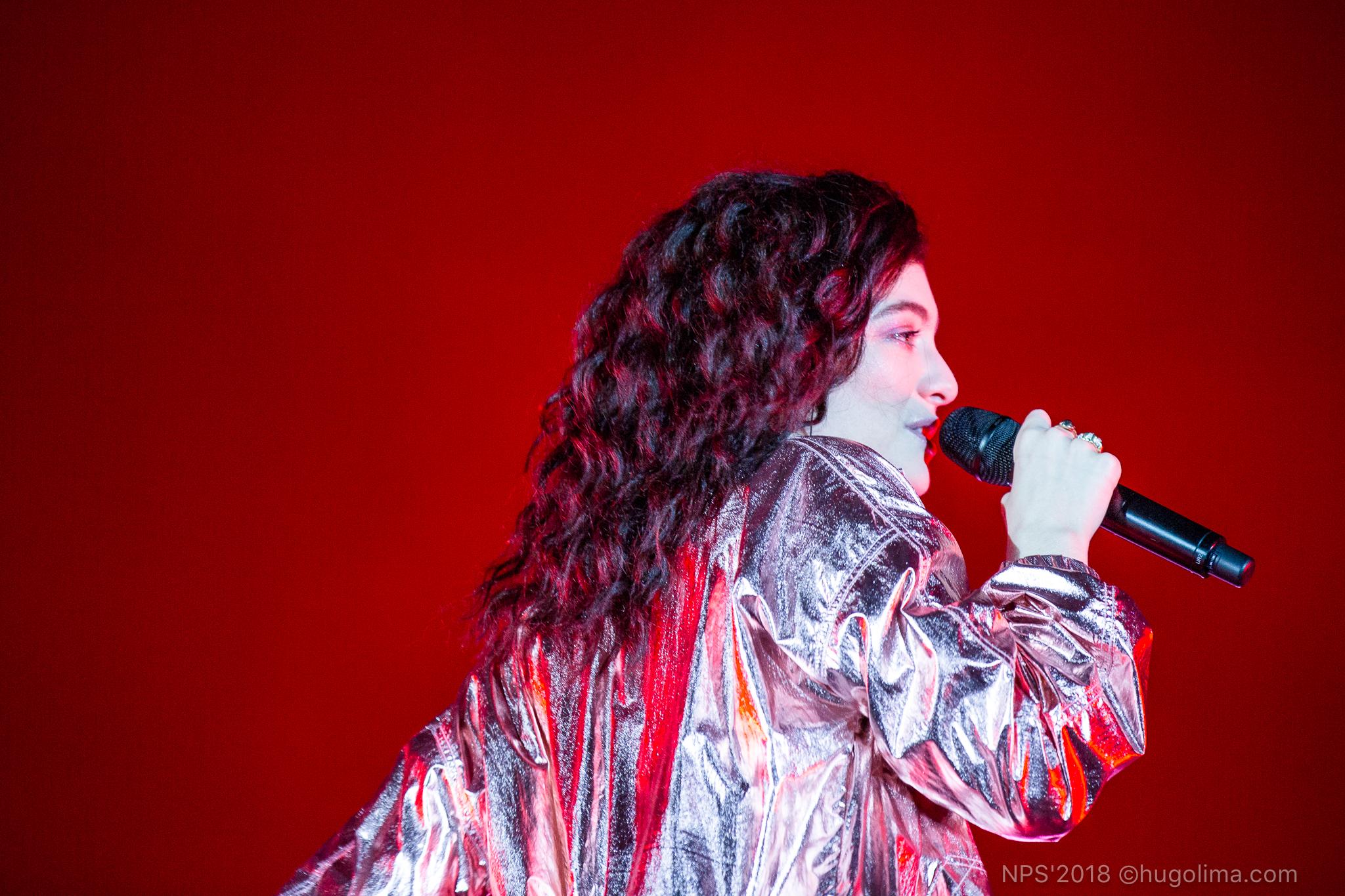 Lorde, NOS Primavera Sound, Deus Me Livro, Hugo Lima,