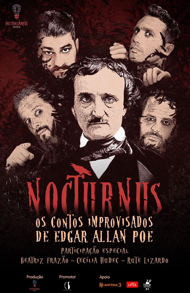 Nocturnus, Os Instantâneos, Edgar Allan Poe, Quinta da Regaleira