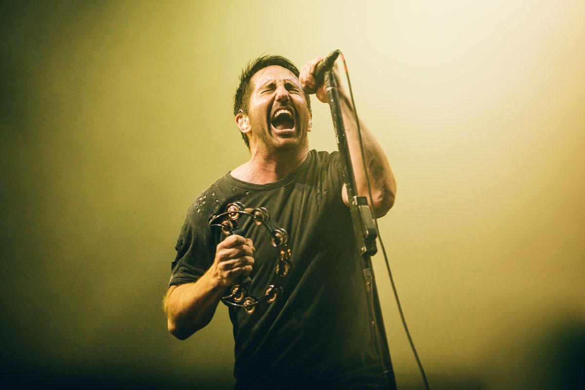 Nine Inch Nails, Deus Me Livro, NOS Alive