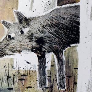 O Lobo O Pato & O Rato, Mac Barnett, Jon Klassen, Orfeu Negro, Deus Me Livro