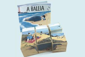 A Baleia, Benji Davies, Deus Me Livro, Orfeu Mini, Orfeu Negro