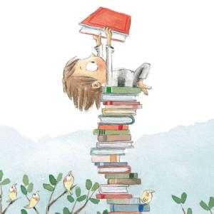 A Montanha de Livros Mais Alta do Mundo, Jacarandá, Deus Me Livro, Rocio Bonila