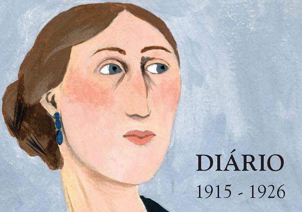 Diário - 1915-1926, Bertrand, Deus Me Livro, Virginia Woolf