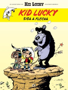 Kid Lucky, Siga a Flecha, Achdé, Morris, Asa, Deus Me Livro, Lucky Luke