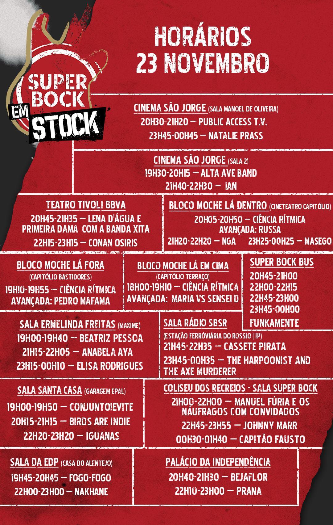 Super Bock em Stock, Super Bock em Stock 2018, Deus Me Livro