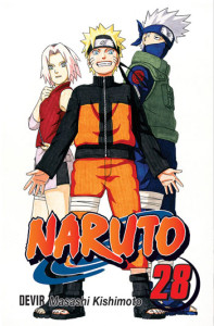 Curtas da Estante, Naruto, Naruto 28, Deus Me Livro, Devir, Masashi Kishimoto
