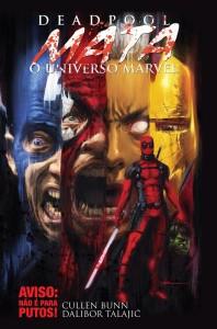 Deadpool mata o universo Marvel, G. Floy, Deus Me Livro, Cullen Bunn, Dalibor Talajic