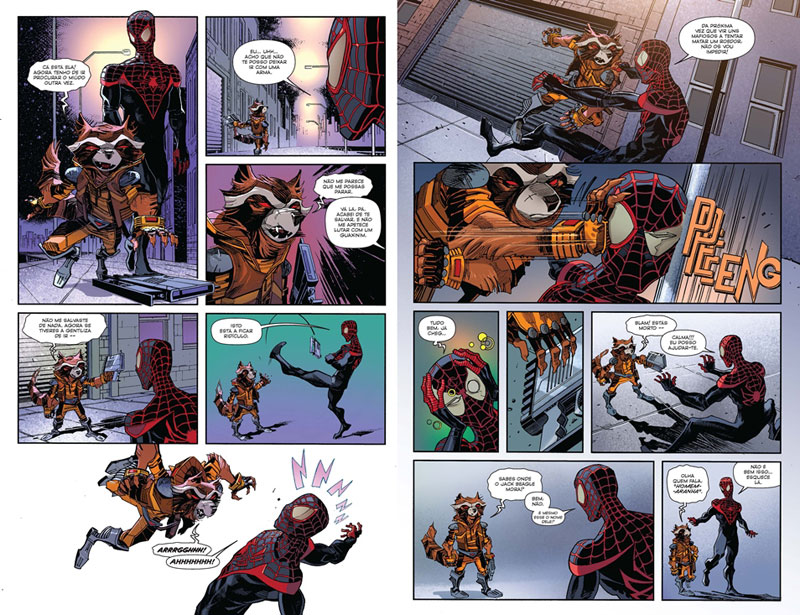 BD Marvel Goody, Curtas da Estante, Guardiões da Galáxia, Rocket Raccoon, Deus Me Livro