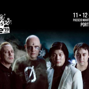 The Smashing Pumpkins, NOS Alive, NOS Alive 2019, Deus Me Livro, Everything is New