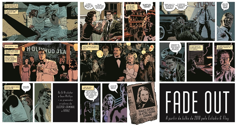 The Fade Out, Deus Me Livro, G. Floy, Ed Brubaker, Sean Philips