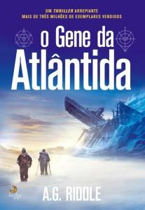 Curtas da Estante, Lua de Papel, Deus Me Livro, O Gene da Atlântida, A.G. Riddle
