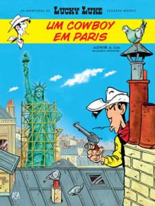 Lucky Luke, Asa, Um Cowboy em Paris, Achdé, Jul, Morris, Deus Me Livro