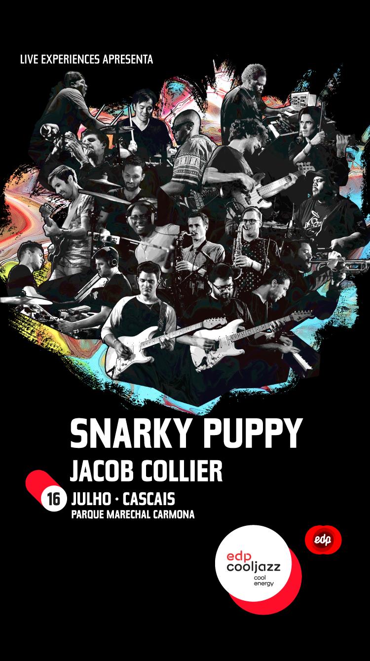 EDP Cool Jazz, Deus Me Livro, Diana Krall, Jamie Cullum, Tom Jones, Snarky Puppy, Jacob Collier, The Roots, Jessie J