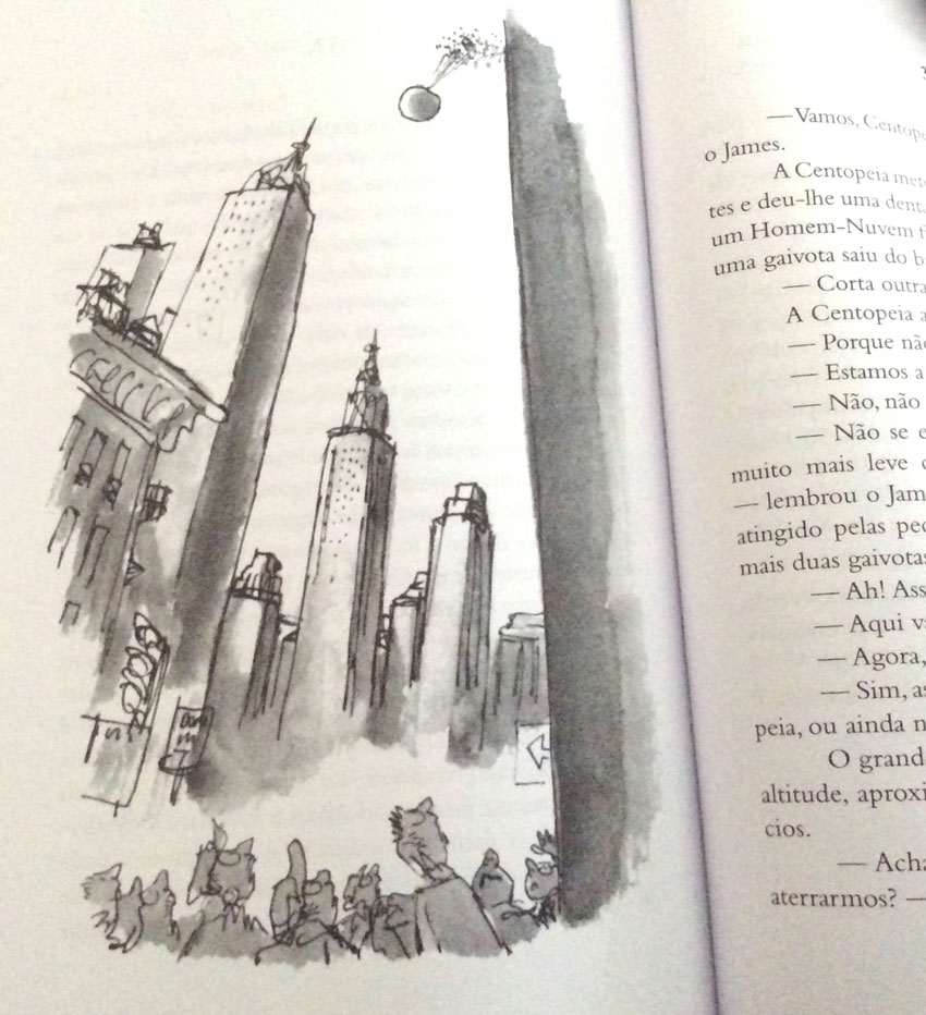 James e o Pêssego Gigante, Oficina do Livro, Deus Me Livro, Roald Dahl