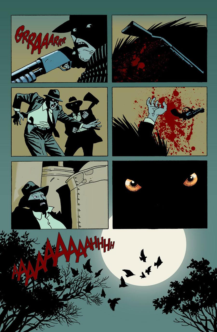 Moonshine, G. Floy, Deus Me Livro, Sangue e Whisky, Brian Azzarello, Eduardo Risso