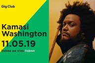 Kamasi Washington, Deus Me Livro, Lisboa ao Vivo, Concerto, Gig Club