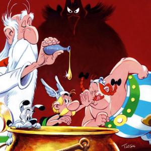 Astérix: O Segredo da Poção Mágica, Asa, Deus Me Livro, Olivier Gay, Fabrice Tarrin, Goscinny, Uderzo, Astérix