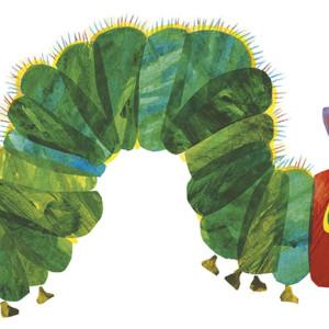A lagartinha muito comilona, o meu livro pop up, Kalandraka, Deus Me Livro, Eric Carle