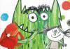 O Monstro das Cores Vai à Escola, Deus Me Livro, Nuvem de Letras, Anna Llenas